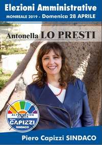 Antonella Lo Presti - amministrative 2019