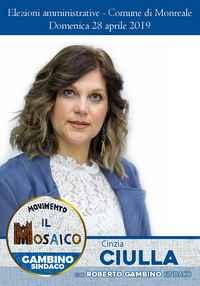 Cinzia Ciulla - amministrative 2019